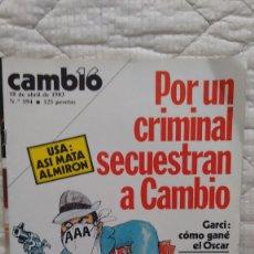 Coleccionismo de Revista Cambio 16: REVISTA CAMBIO 16 NUMERO 594 18 DE ABRIL DE 1983. Lote 80232213