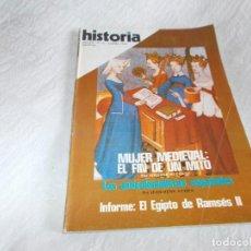 Coleccionismo de Revista Cambio 16: HISTORIA 16 Nº 21 MUJER MEDIEVAL: FIN DE UN MITO. Lote 83698616