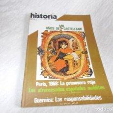 Coleccionismo de Revista Cambio 16: HISTORIA 16 Nº 25 MIL AÑOS DE CASTELLANO. Lote 83701564