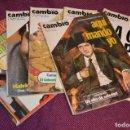 Coleccionismo de Revista Cambio 16: LOTE 6 REVISTAS CAMBIO 16 / CAMB16 - AÑOS 70 Y 80 - PERIODO POLITICO Y SOCIAL MUY INTERESANTE - L01. Lote 89215352