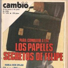 Colecionismo da Revista Cambio 16: REVISTA CAMBIO 16. Nº 656. 2 JULIO 1983. (B/58). Lote 89372948