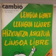 Coleccionismo de Revista Cambio 16: REVISTA CAMB16 24-30 NOVIEMBRE. Lote 89673500