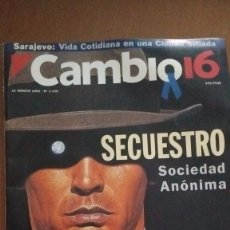 Coleccionismo de Revista Cambio 16: CAMBIO 16. SECUESTRO SA. N.1135 23 AGOSTO 1993. Lote 92692880