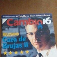 Coleccionismo de Revista Cambio 16: CAMBIO 16. HOLLYWOOD CAZA DE BRUJAS II. N.1136. 30 AGOSTO 1993. Lote 92693320