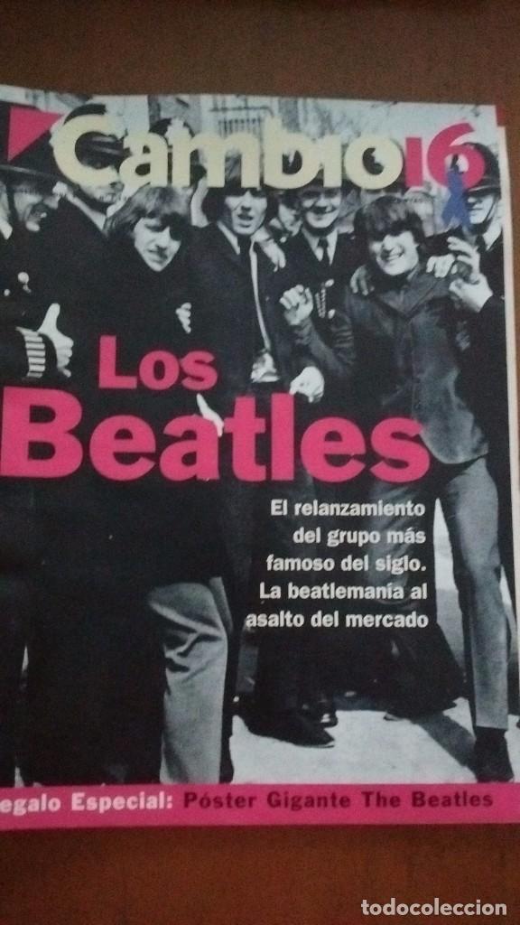 CAMBIO 16. LOS BEATLES N.1138 13 SEPTIEMBRE 1993 (Coleccionismo - Revistas y Periódicos Modernos (a partir de 1.940) - Revista Cambio 16)