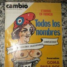 Coleccionismo de Revista Cambio 16: CAMBIO 16 ENERO 1979. Nº 373. Lote 95287111