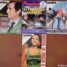 Coleccionismo de Revista Cambio 16: CAMBIO16 . Lote 95436144
