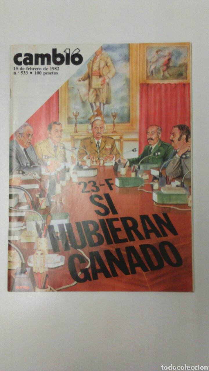 REVISTA CAMBIO 16 AÑO 1982 (Coleccionismo - Revistas y Periódicos Modernos (a partir de 1.940) - Revista Cambio 16)