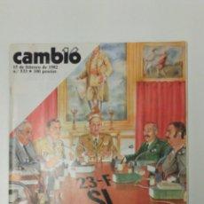 Coleccionismo de Revista Cambio 16: REVISTA CAMBIO 16 AÑO 1982. Lote 95751966