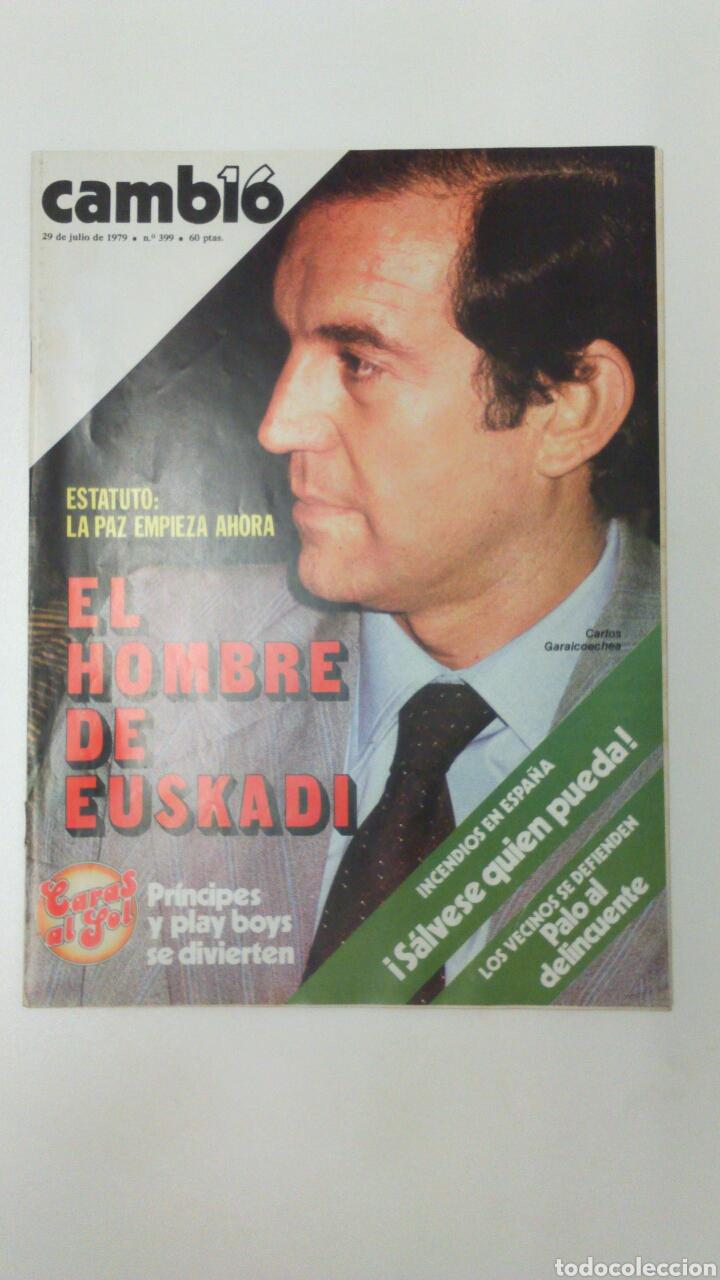 REVISTA CAMBIO 16 AÑO 1979 (Coleccionismo - Revistas y Periódicos Modernos (a partir de 1.940) - Revista Cambio 16)