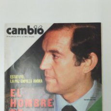 Coleccionismo de Revista Cambio 16: REVISTA CAMBIO 16 AÑO 1979. Lote 95752038