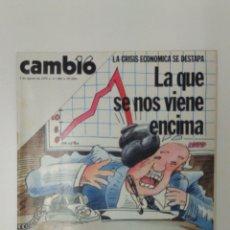 Coleccionismo de Revista Cambio 16: REVISTA CAMBIO 16 AÑO 1979 . Lote 95752119