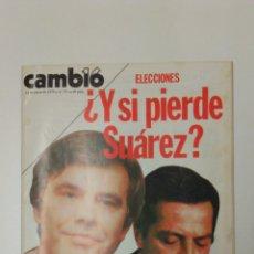 Coleccionismo de Revista Cambio 16: REVISTA CAMBIO 16 AÑO 1979 . Lote 95752204