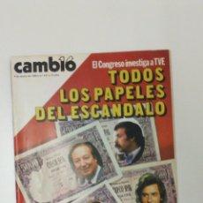 Coleccionismo de Revista Cambio 16: REVISTA CAMBIO 16 AÑO 1980 . Lote 95752300
