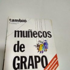 Coleccionismo de Revista Cambio 16: REVISTA CAMBIO 16 NRO 272. 21-27 FEBRERO 1977. Lote 96628491