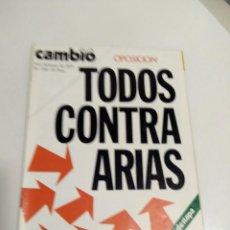 Coleccionismo de Revista Cambio 16: REVISTA CAMBIO 16 NRO 218. 9-15 FEBRERO 1976. Lote 96628663