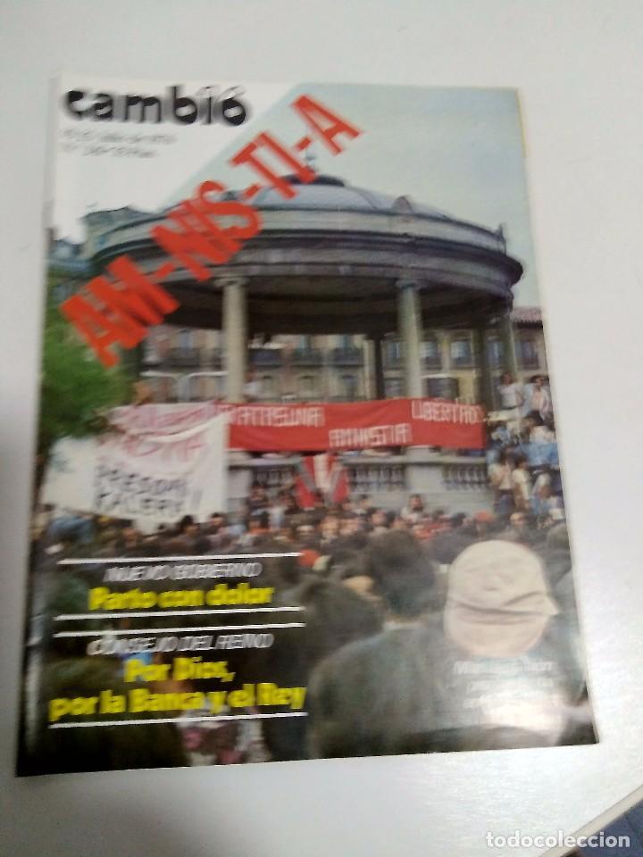 REVISTA CAMBIO 16 NRO 241. 19-25 JULIO 1976 (Coleccionismo - Revistas y Periódicos Modernos (a partir de 1.940) - Revista Cambio 16)