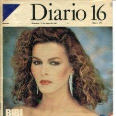 Coleccionismo de Revista Cambio 16: DIARIO 16 SEMANAL Nº 190 12 DE MAYO DE 1985. Lote 97658839