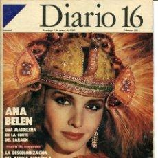 Coleccionismo de Revista Cambio 16: DIARIO 16 SEMANAL Nº 189 5 DE MAYO DE 1985. Lote 97658955