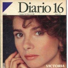 Coleccionismo de Revista Cambio 16: DIARIO 16 SEMANAL Nº 229 9 DE FEBRERO DE 1986. Lote 97659075