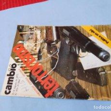 Coleccionismo de Revista Cambio 16: NÚMERO DEDICADO AL TERRORISMO EN AGOSTO DE 1975. Lote 99400215