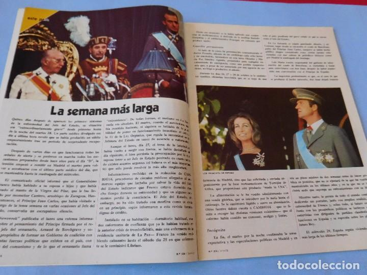 Coleccionismo de Revista Cambio 16: Número editado en plena agonia de Franco - Foto 2 - 99400331