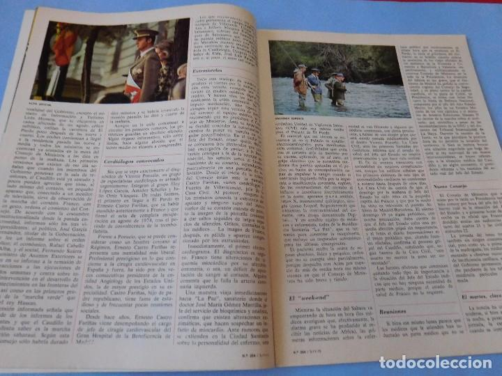 Coleccionismo de Revista Cambio 16: Número editado en plena agonia de Franco - Foto 3 - 99400331