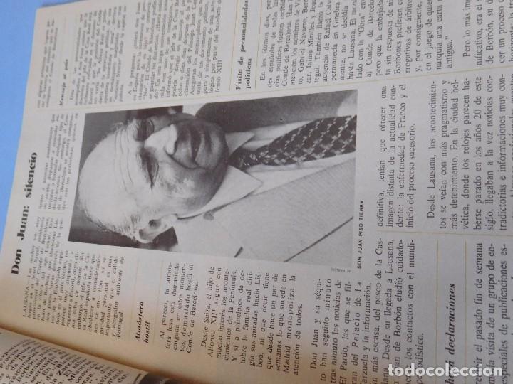 Coleccionismo de Revista Cambio 16: Número editado en plena agonia de Franco - Foto 6 - 99400331