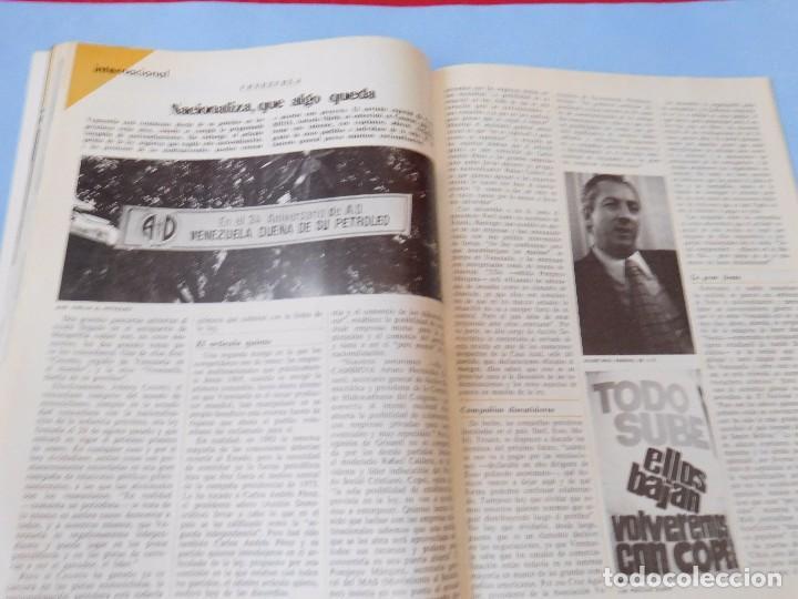 Coleccionismo de Revista Cambio 16: Número editado en plena agonia de Franco - Foto 8 - 99400331