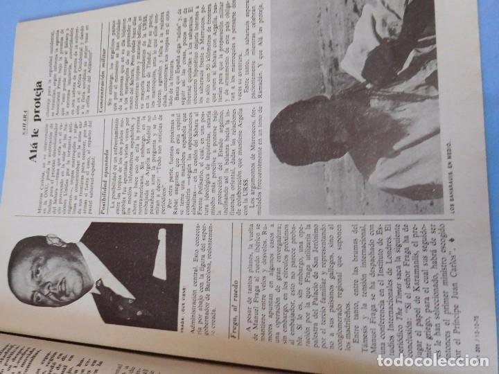 Coleccionismo de Revista Cambio 16: DIARIO 16, pre-agonía de Franco, Octubre de 1975 - Foto 4 - 99400547