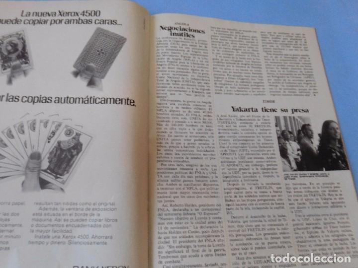 Coleccionismo de Revista Cambio 16: DIARIO 16, pre-agonía de Franco, Octubre de 1975 - Foto 7 - 99400547