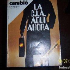 Coleccionismo de Revista Cambio 16: REVISTA CAMBIO 16, UN EJEMPLAR, 12-18 ENERO 1976 Nº 214. Lote 100227311