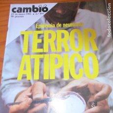 Coleccionismo de Revista Cambio 16: CAMBIO 16 Nº 495 DE 1981- ETA ALMERIA, BOB MARLEY, VARSOVIA, ANTONIO EL BAILARIN, CLAIRE BRETECHER... Lote 100756067