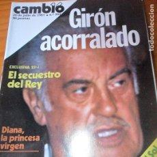 Coleccionismo de Revista Cambio 16: CAMBIO 16 Nº 503 DE 1981- 23J GOLPE DE ESTADO, THATCHER, UCD, JORDI PUYOL, FURIA DE TITANES, Y ++. Lote 100912539