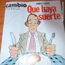 Coleccionismo de Revista Cambio 16: CAMBIO 16 Nº 514 DE 1981- ETA, JOHN MCENROE, FESTIVAL DE SAN SEBASTIAN, IAN DURY, PINILLOS D ESGUEVA. Lote 100918595