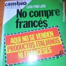 Coleccionismo de Revista Cambio 16: CAMBIO 16 Nº 517 DE 1981- FORMULA 1, PABLO PICASSO, BALLET EN ESPAÑA, PREMIOS NOBEL, ARZALLUS, FRAGA. Lote 100923555