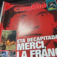 Coleccionismo de Revista Cambio 16: REVISTA CAMBIO 16 Nº 1063 6 DE ABRIL 1992. Lote 107093771