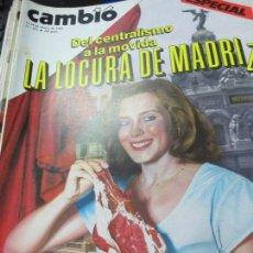 Collezionismo di Rivista Cambio 16: REVISTA CAMBIO 16 Nº 693 11-18 DE MARZO 1985. Lote 107093895
