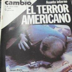 Coleccionismo de Revista Cambio 16: REVISTA CAMBIO 16 Nº 488 6 DE ABRIL 1981. Lote 107095159