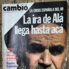 Coleccionismo de Revista Cambio 16: CAMBIO 16 Nº 417-1979 - LEVY CARRILLO-CASO RUPEREZ-MANUEL RODRIGUEZ DELGADO-SOFIA LOREN-RAIMON-DODGE. Lote 112469987