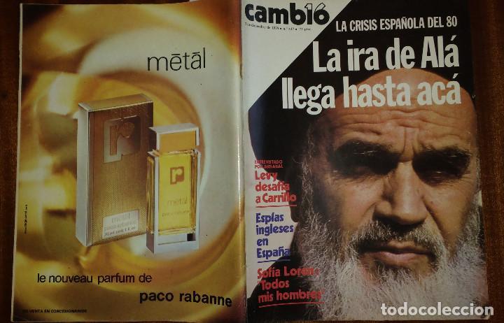 Coleccionismo de Revista Cambio 16: CAMBIO 16 Nº 417-1979 - LEVY CARRILLO-CASO RUPEREZ-MANUEL RODRIGUEZ DELGADO-SOFIA LOREN-RAIMON-DODGE - Foto 2 - 112469987