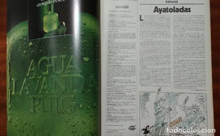 Coleccionismo de Revista Cambio 16: CAMBIO 16 Nº 417-1979 - LEVY CARRILLO-CASO RUPEREZ-MANUEL RODRIGUEZ DELGADO-SOFIA LOREN-RAIMON-DODGE - Foto 3 - 112469987