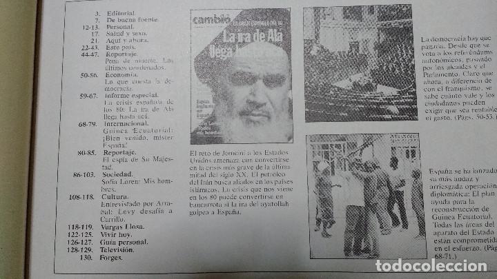 Coleccionismo de Revista Cambio 16: CAMBIO 16 Nº 417-1979 - LEVY CARRILLO-CASO RUPEREZ-MANUEL RODRIGUEZ DELGADO-SOFIA LOREN-RAIMON-DODGE - Foto 4 - 112469987