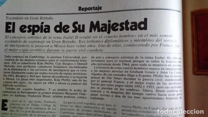 Coleccionismo de Revista Cambio 16: CAMBIO 16 Nº 417-1979 - LEVY CARRILLO-CASO RUPEREZ-MANUEL RODRIGUEZ DELGADO-SOFIA LOREN-RAIMON-DODGE - Foto 10 - 112469987