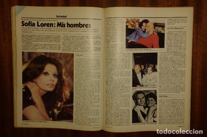 Coleccionismo de Revista Cambio 16: CAMBIO 16 Nº 417-1979 - LEVY CARRILLO-CASO RUPEREZ-MANUEL RODRIGUEZ DELGADO-SOFIA LOREN-RAIMON-DODGE - Foto 11 - 112469987