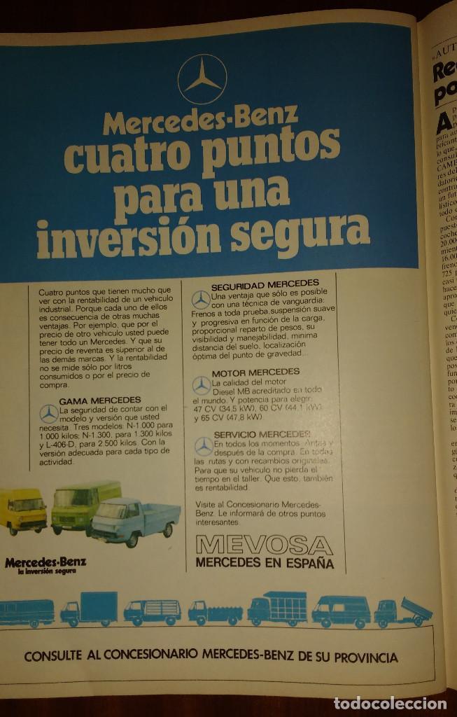 Coleccionismo de Revista Cambio 16: CAMBIO 16 Nº 417-1979 - LEVY CARRILLO-CASO RUPEREZ-MANUEL RODRIGUEZ DELGADO-SOFIA LOREN-RAIMON-DODGE - Foto 13 - 112469987