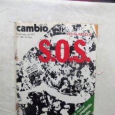 Coleccionismo de Revista Cambio 16: REVISTA CAMBIO16 - CEUTA, MELILLA S.O.S. 14 - 20 DE JULIO DE 1975 Nº 188. Lote 112544691