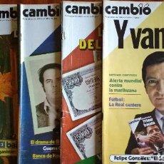 Coleccionismo de Revista Cambio 16: CAMBIO 16-1980-PERICO-JUICIO ATOCHA-YOLANDA GONZALEZ-ATAHUALPA YUPANQU-LEILOIO-AUTE-FELIX RODRIGUEZ. Lote 112565111