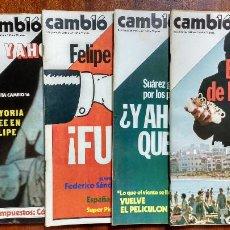 Coleccionismo de Revista Cambio 16: CAMBIO 16-1980-MONSEÑOR ROMERO-MARIA JIMENEZ-MIGUEL RIOS-FELIX RODRIGUEZ-CHILLIDA-WOODY ALLEN-PICASS. Lote 112659403