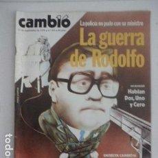 Coleccionismo de Revista Cambio 16: REVISTA CAMBIO 16 - Nº 354 - SEPTIEMBRE DE 1978 - POLÍTICA - PSOE - RODOLFO MARTÍN VILLA. Lote 112794831